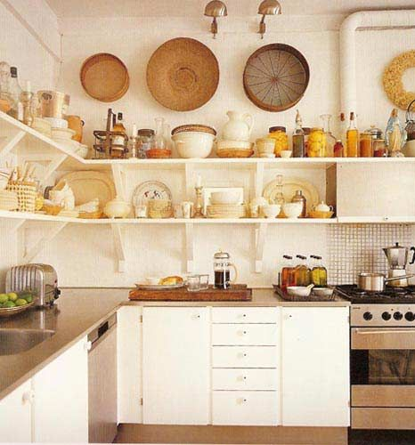 rustic small kitchen design - photo #32