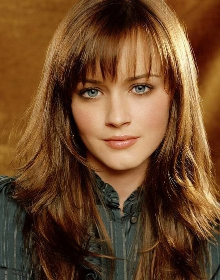 Medium Hairstyles With Blunt Bangs   Blunt Bangs and the Style Redefinition