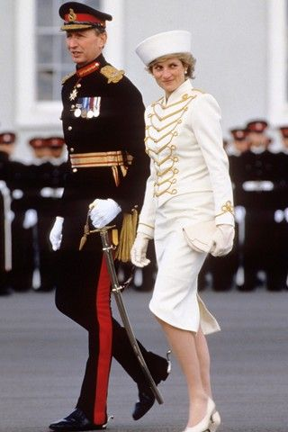 Military-Style Suits | Style File - Diana, Princess Of Wales (31 of 75)