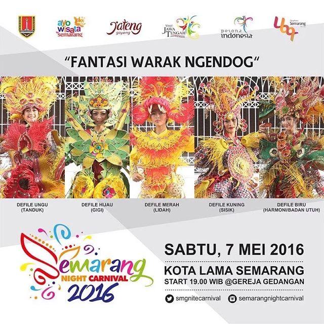 Agenda : Semarang Night Carnival 2016 ~ Dotsemarang