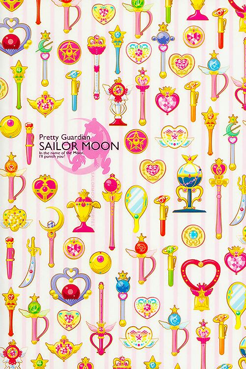 Sailor Moon Icon Prism Notebook