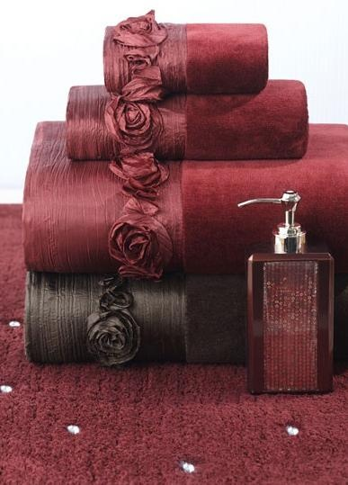 Tired of roses on Valentine's Day? These ROSE towels are a perfect gift for your special someone, they'll last longer too! #AnnasLinens