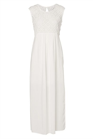 Broderie-Beach-Maxi - $129 http://www.witchery.com.au/shop/her/clothing/dresses/609075/