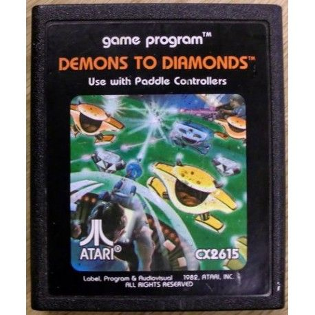 Demons to Diamonds / Atari 2600
