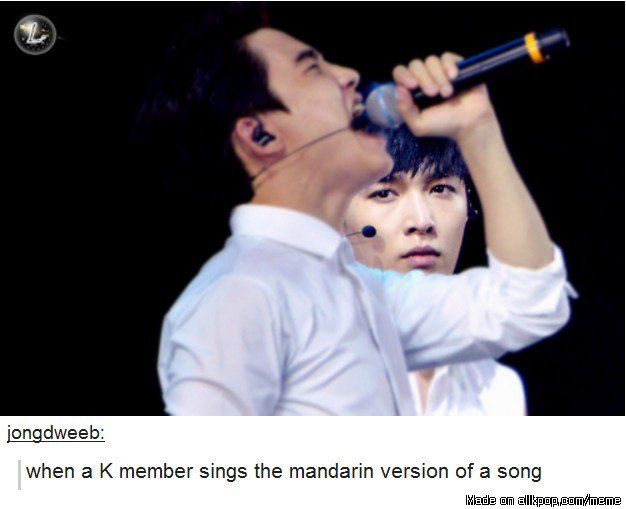 Though this is funny it's also sad, because the ones who should be singing it left the group...
