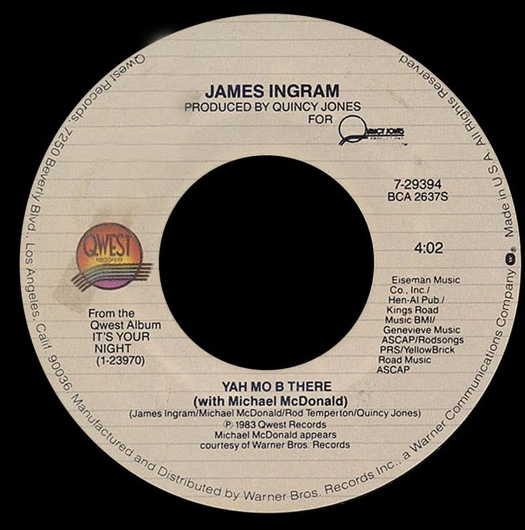 James Ingram with Michael McDonald ~ Yah Mo B There 1983 Funky Purrfecti...