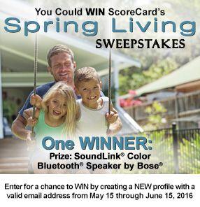ScoreCard Rewards - Login