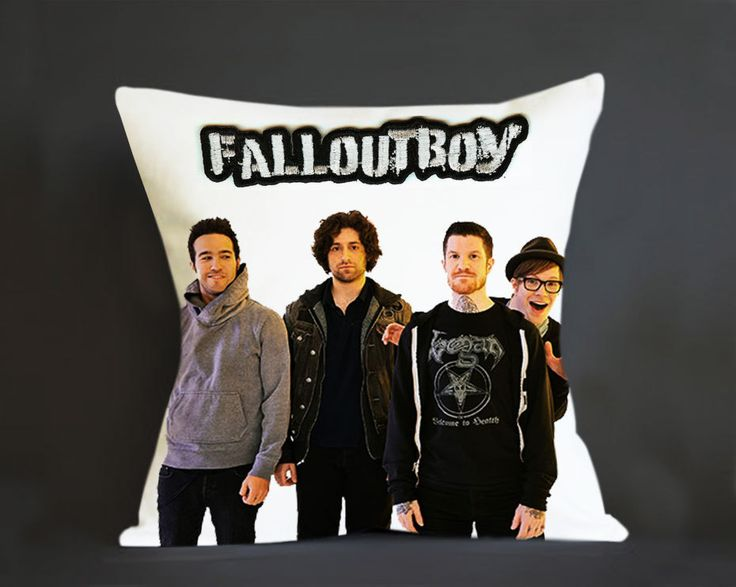 Pillow Cover, Fall Out Boy Personel Pillow - Custom Pillow cover - Pillowcases by clingartshop on Etsy   #pillow #Case #Custom #Personalized #Quote #Magcon #Gift