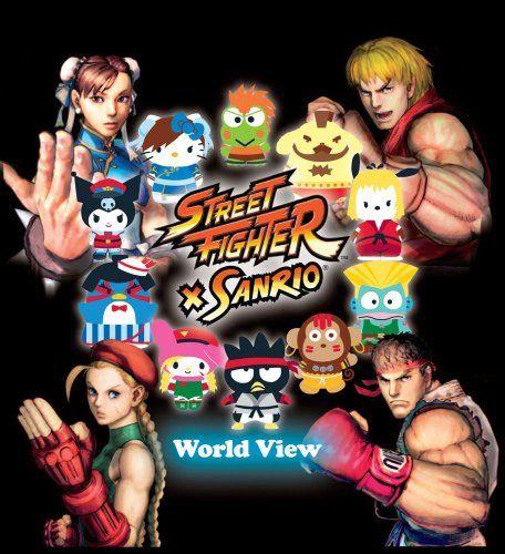 Street Fighter X Sanrio: World View @ niftywarehouse.com #NiftyWarehouse #StreetFighter #VideoGames #Gaming