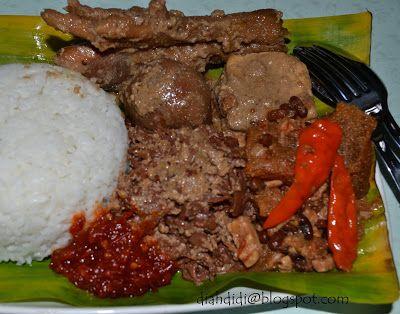 Diah Didi's Kitchen: Gudeg Yogya Mba Lies di Semarang Atas