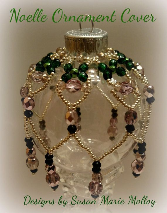 THIS IS A TUTORIAL that will be automatically delivered to you once payment is confirmed. I designed and created this dainty beaded ornament