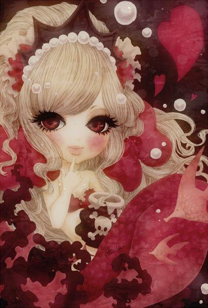 人魚姫と魔女【イラスト】 の画像 Kathmi's Pictures Blog