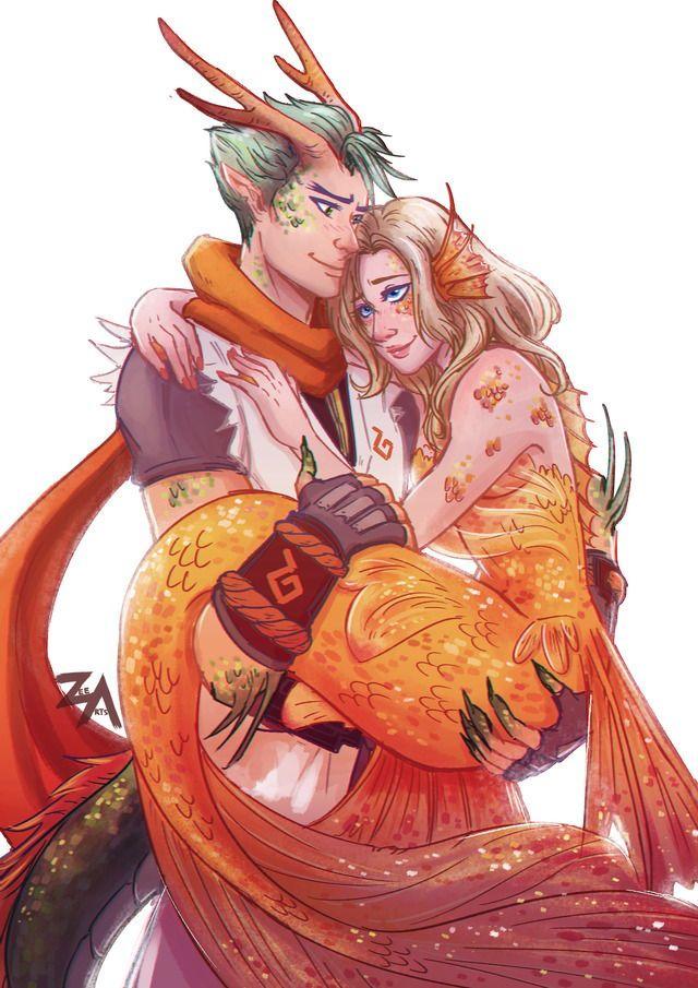 Dragon Genji and Mermaid Mercy