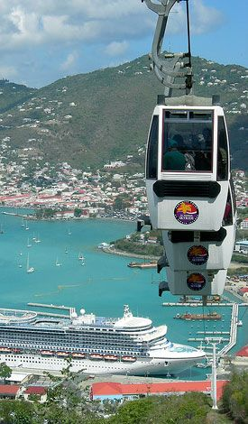 Skyride - St. Thomas Island - U.S.V.I Virgin Islands