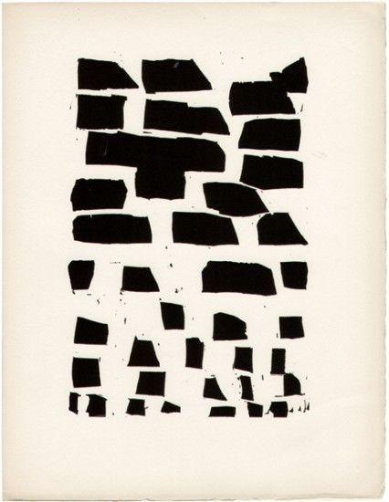 """René CHAR/""""Poèmes"""" xylographie de Nicolas de STAËL"""
