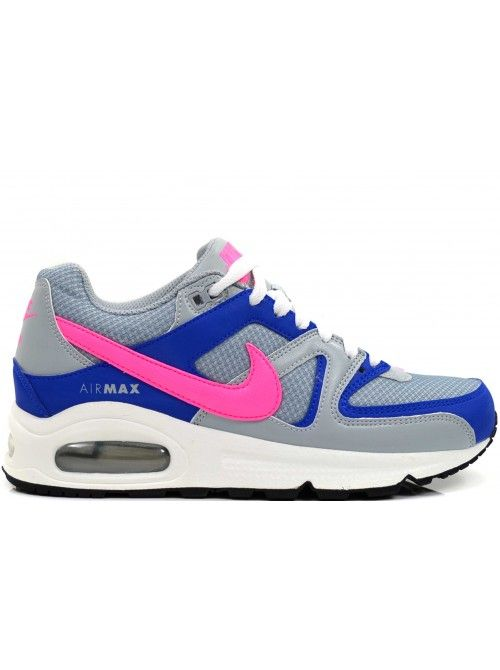 NIKE AIR MAX COMMAND DAMES SNEAKERS - GRIJS ROZE