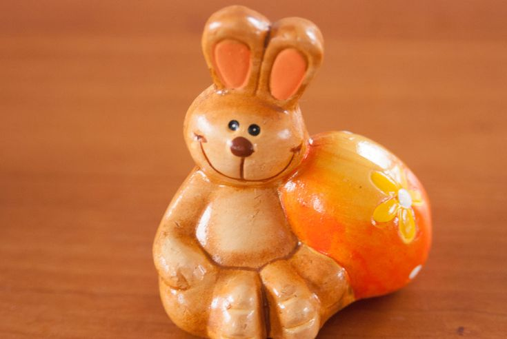 Little Easter bunny. See more at www.evabyeva.dk