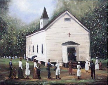 Idea Reunion African American Family Art | Black Church Art Prints & Posters - Religious & Spiritual Art