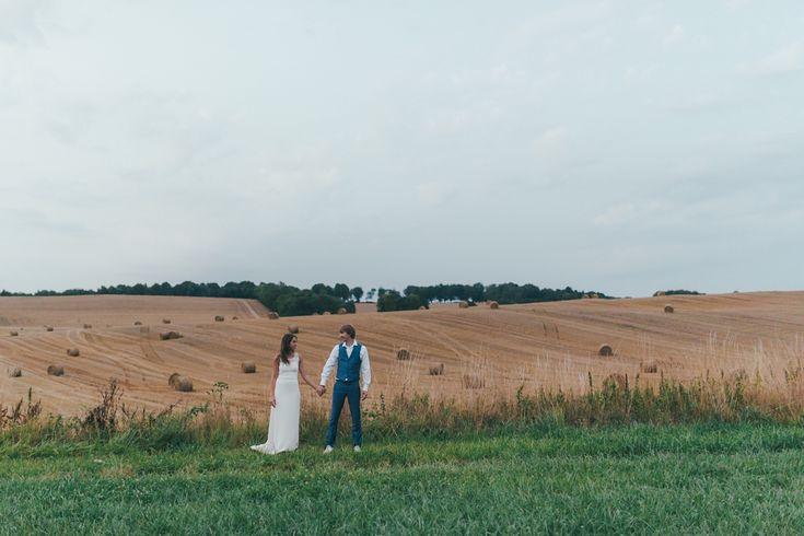 Séance après le mariage en forêt en Normandie
