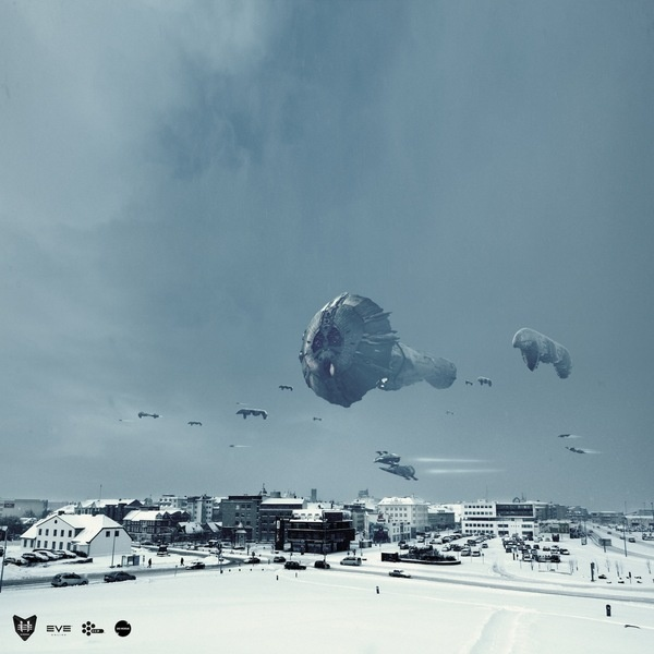 Reykjavik Invasion - Eve Online by Sig Vicious, via Behance