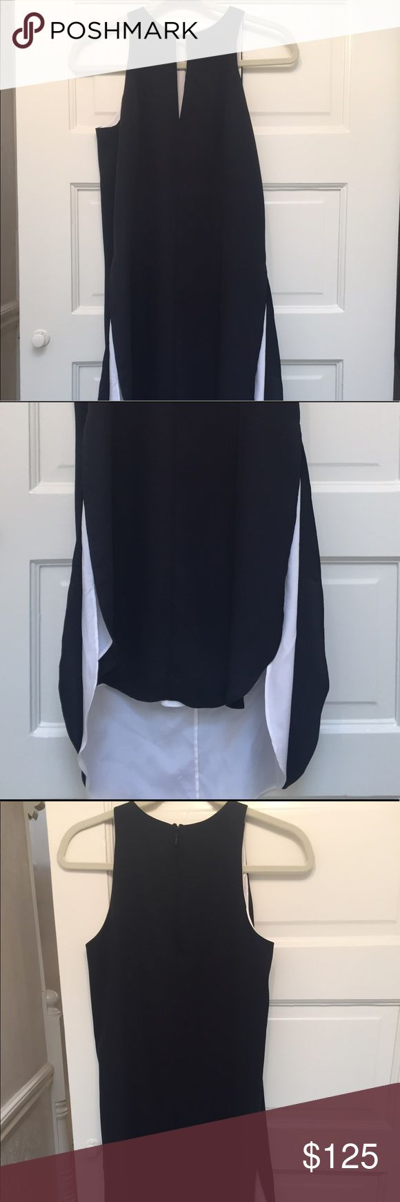 ✨SALE!!! Rag & Bone Black and White Cocktail dress Rag & Bone Black and White Cocktail dress with front keyhole. Absolutely perfect for a wedding or cocktail party! Worn only a handful of times. rag & bone Dresses