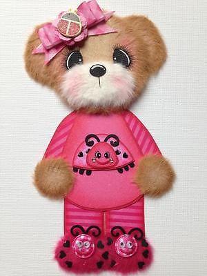Ladybug Pajama Boy Girl Bear Scrapbook Paper Piecing ELITE4U 3PAPERWISHES | eBay