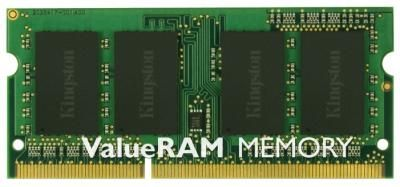 Память оперативная DDR3 SO-DIMM Kingston 8GB PC10600 (KVR1333D3S9;8G)  — 2970 руб. —  1 модуль памяти DDR3, объем модуля 8 Гб, форм-фактор SODIMM, 204-контактный, частота 1333 МГц, CAS Latency (CL): 9