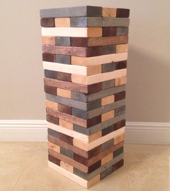 Giant Jenga Game with a Vintage Twist by CarvedWoodworks on Etsy, $175.00 |  Wedding Ideas | Jenga, Giant jenga, Jenga game - Giant Jenga Game With A Vintage Twist By CarvedWoodworks On Etsy