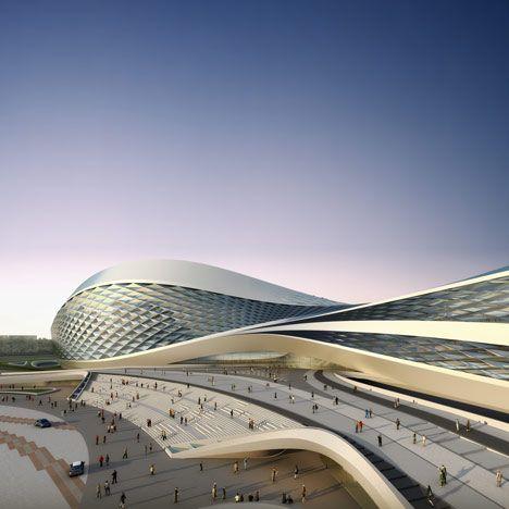 Zaha Hadid Architects  (ZHA) fornirà la città di Chengdu, con un centro d'arte. Questo 200.000 metri quadrati complesso è composto da collezione di arti, performance, tempo libero e centri congressi. Ospita tre sale, un museo d'arte, un centro espositivo, un centro congressi, un centro di apprendimento, bar, ristoranti e negozi.