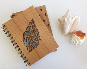 Desert Garden botanische Lasercut hout Journal door Cardtorial