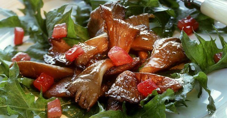 Gebratene Austernpilze auf Tomaten-Löwenzahnsalat ist ein Rezept mit frischen Zutaten aus der Kategorie Gemüsesalat. Probieren Sie dieses und weitere Rezepte von EAT SMARTER!