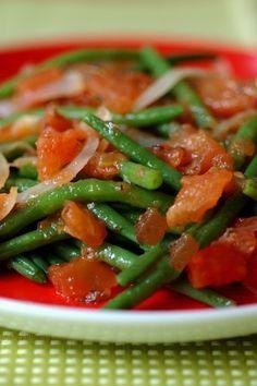 Haricots verts à la provençale : recette de haricots verts - Recettes légères : sélection de recette light, légère et facile - aufeminin.com
