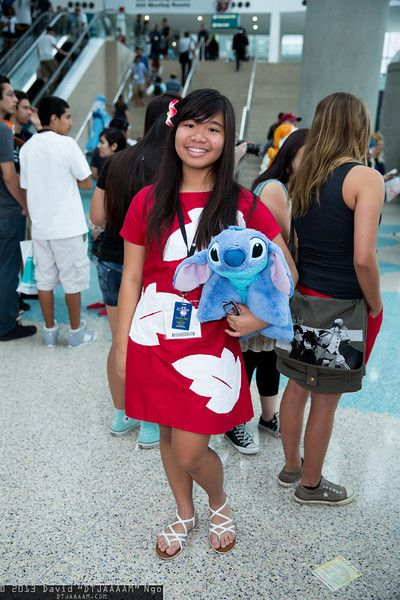 Lilo and Stitch #cosplay | Anime Expo 2013