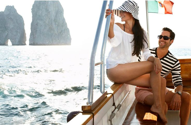 this is EXACTLY what we'll look like sailing around the Amalfi Coast on our honeymoon...