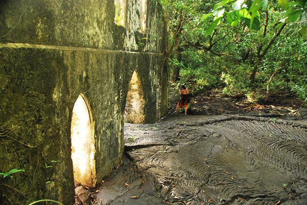 Lava Flows, Mt Matavanu Volcano Samoa | The Travel Tart Blog