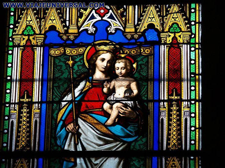 Título: Vitral 4 Autor: Anónimo Lugar: Iglesia de San Pedro de Obernai Año: 1872 Escuela: Neo-Gótica