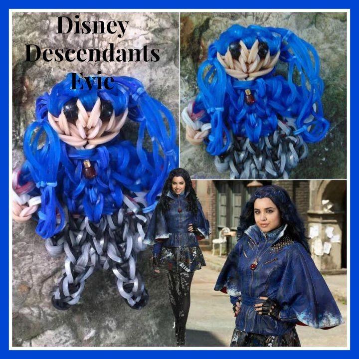 Rainbow Loom Disney Descendants Evie Tutorial