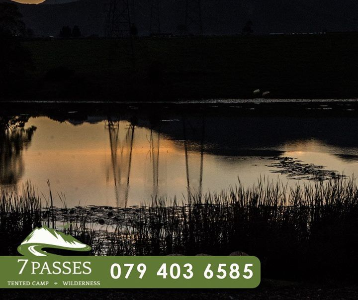 Start your week with a gorgeous sunrise over the #OuteniquaMountains, while enjoying your stay at #7Passes. Call us today on 079 403 6585 to book your stay. #Accommodation #Wilderness
