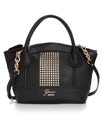 GUESS Handbag, Jinan Satchel - Handbags & Accessories - Macy's