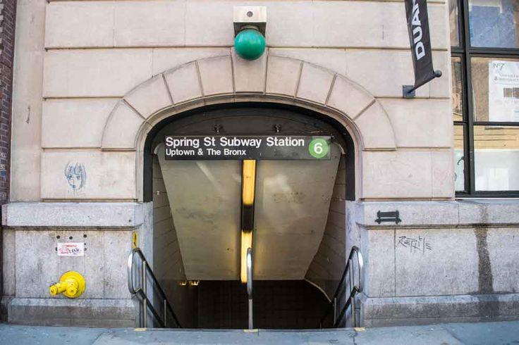 Piccola Italia Spring Street Subway NYC