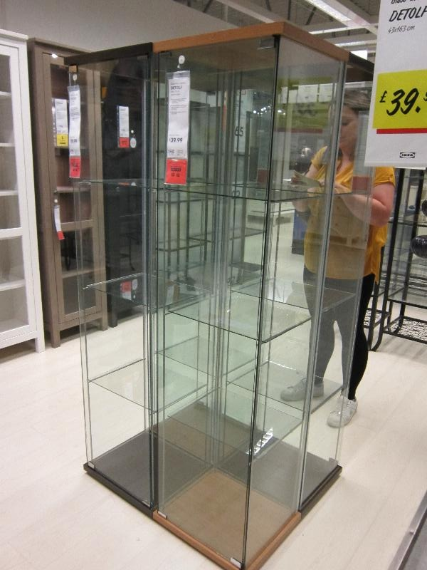 ikea glass display cabinet au. Black Bedroom Furniture Sets. Home Design Ideas
