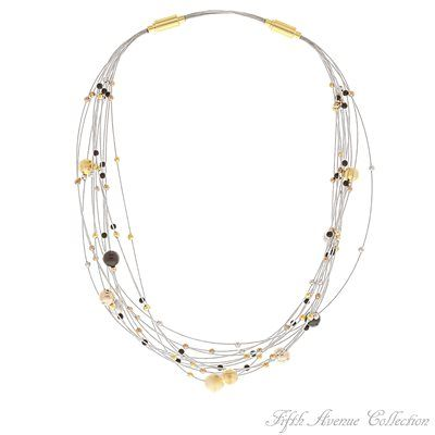 Gold Neckpiece - A Little Lavish - Australia - Fifth Avenue Collection - Jewellery that changes the way you see fashion