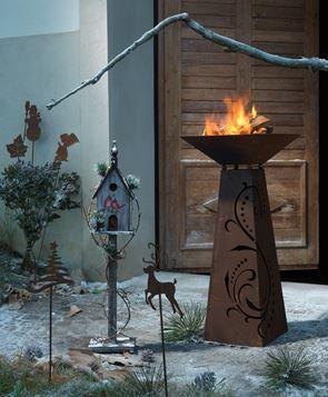 Iarna pare mai blanda cu un astfel de semineu #kikaromania #accesorii #decoratiuni #iarna #Craciun #MosCraciun #zapada #emotie #semineu