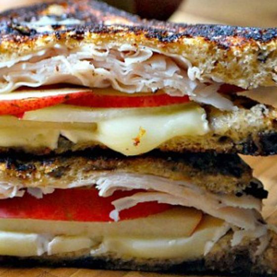 Grilled Turkey, Pear and Brie Sandwiches | 33 Terrific Toddler Meals