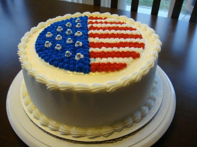 American Flag Cake   American Flag Cake