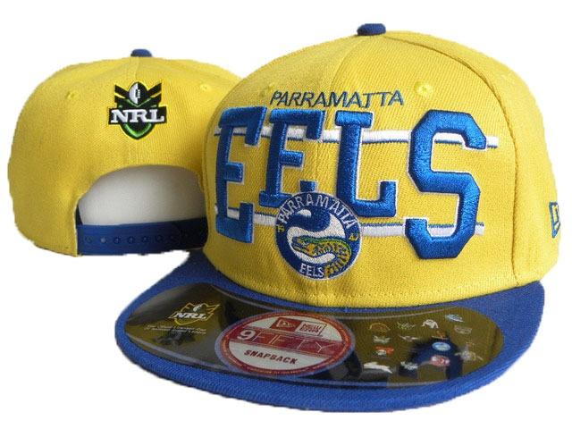 NRL Parramatta Eels NE Snapback Hat 02