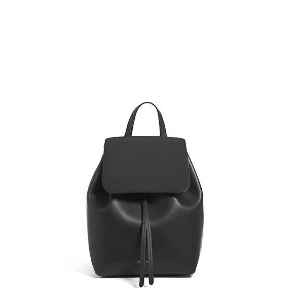 MANSUR GAVRIEL - Mini Backpack Cammello - Rosa (SOLD OUT)