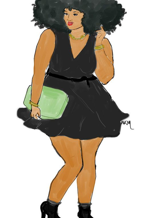 Fashion and Curvy by Nikisgroove on Etsy