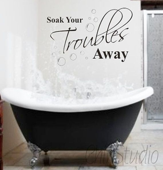 vinyl bathroom quote wall decal words wall art quotes wall sticker bathroom quote by amazing house design