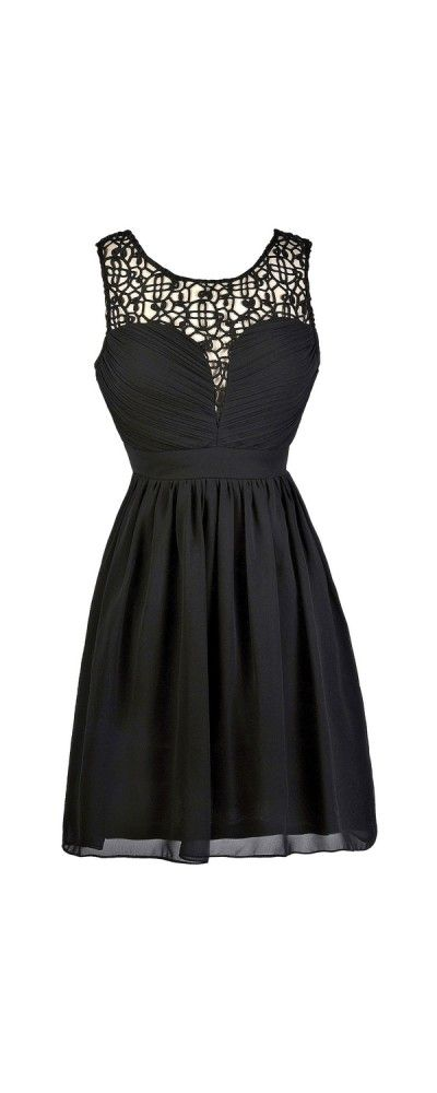 17 Best ideas about Cute Black Dress on Pinterest | Black shoes ...